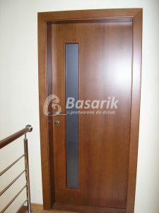 Moderné dvere so svetlíkom