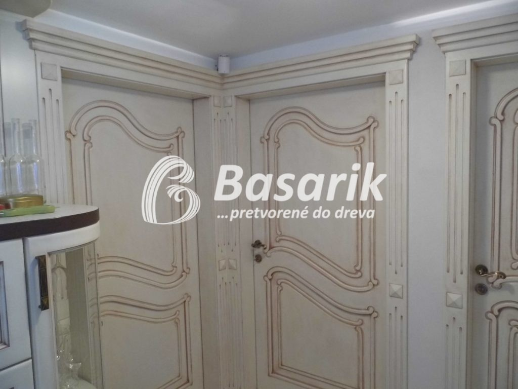 Luxusné dvere vintage štýl