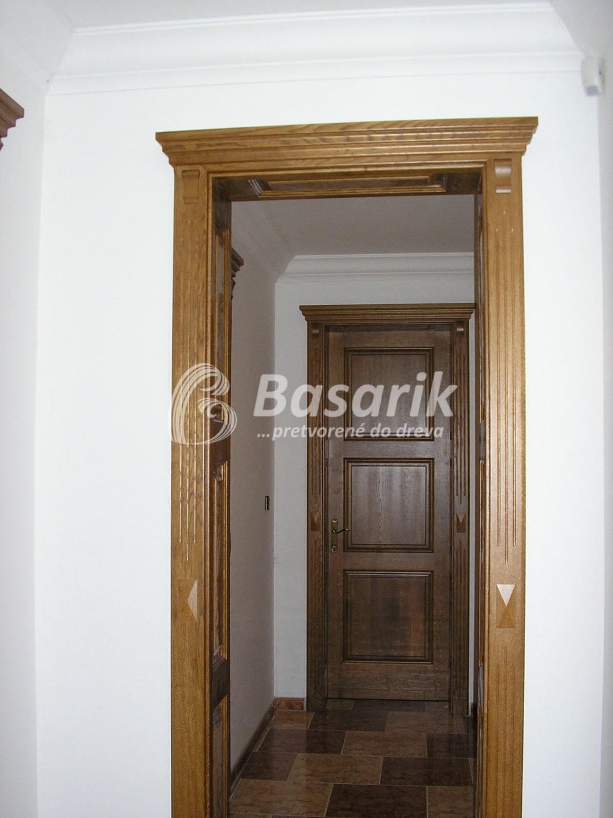 Dvere kazetové rustikálne