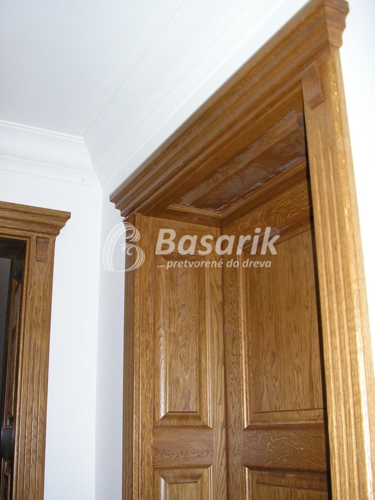 Dvere kazetové, rustikálne