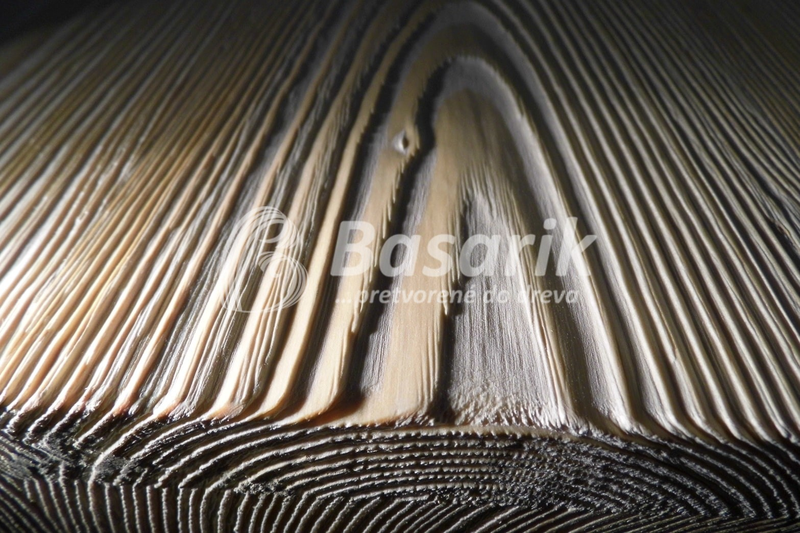 Kartačovane drevo