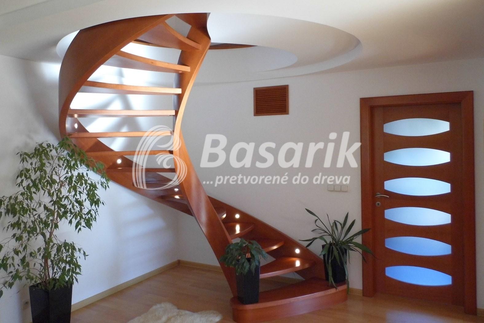 Samonosné točité schody