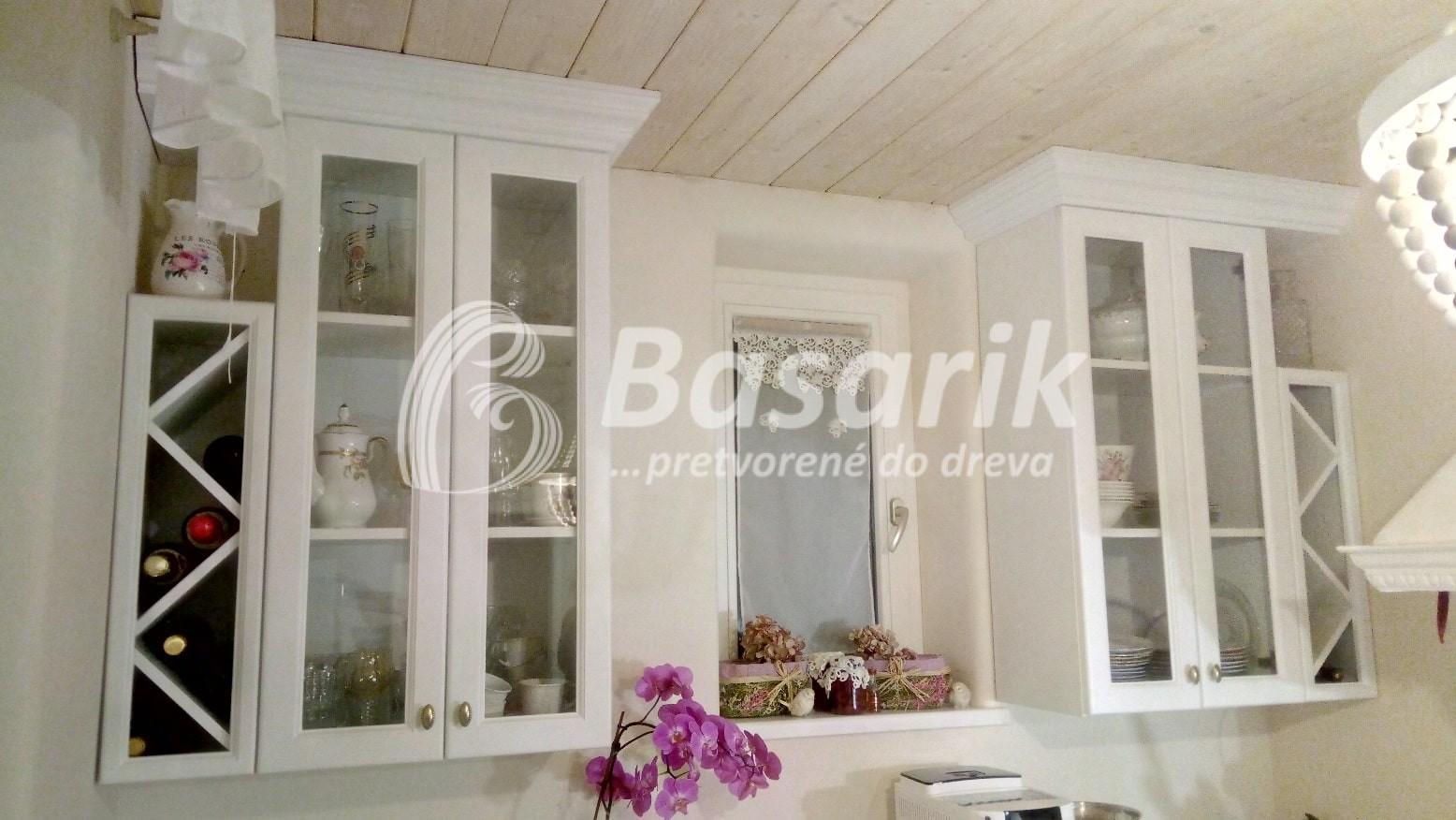 Vidiecka kuchyňa biela